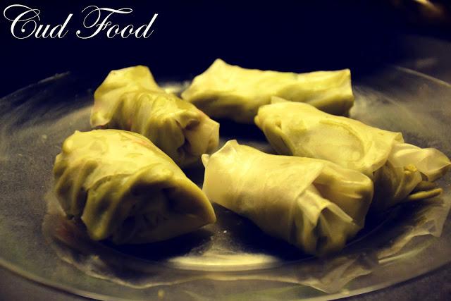 Zdrowsza wersja sajgonek, czyli spring rolls z tofu