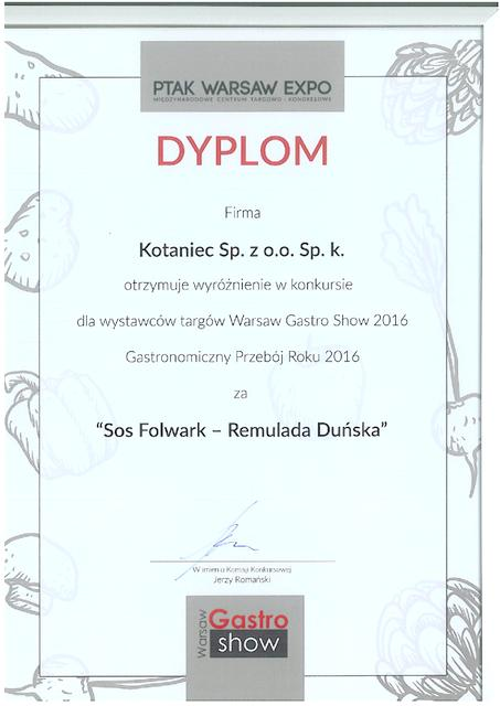 Remulada duńska Folwark – gastronomical hit of the year !
