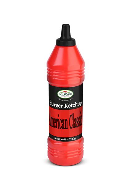 (Polski) Burger Ketchup American Classic