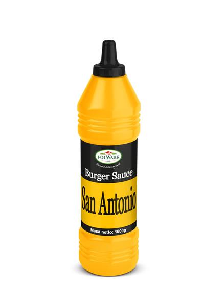 (Polski) Burger sos San Antonio